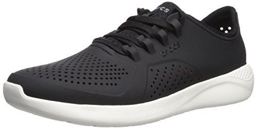 Crocs Women's LiteRide Pacer, black, 8 M US