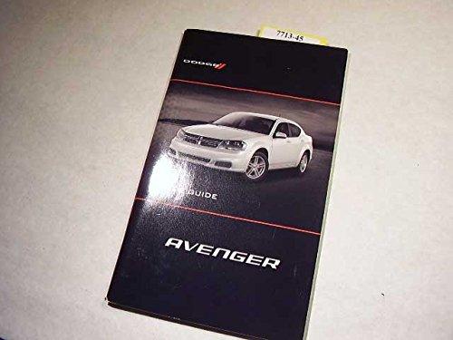 2011 Dodge Avenger Owners Manual