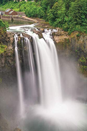 (Notebear: Snoqualmie Falls, Washington, Usa Journal (Travel Notebook & Diary with Alternate Blank & Lined Pages))
