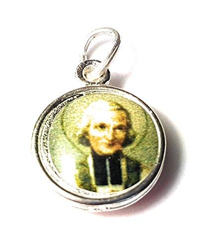 (Relic Medals 3rd class of Jean Baptiste Marie Vianney patron of all priests, pastors, Kansas City Juan Bautista María Vianney patrono de Sacerdotes y Párrocos)