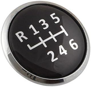 myshopx E17 6 speed gear knob badge emblem.