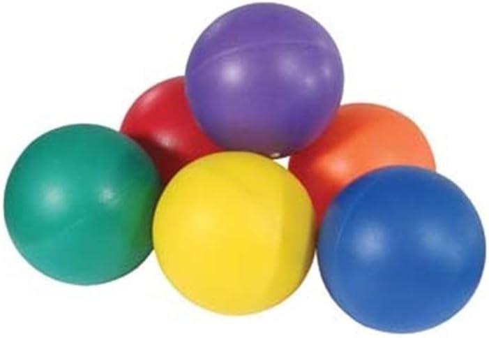 キッズインドアゲームPVCカバーソフトタッチカラフルトレーニングボール6個パックAssorted  200mm