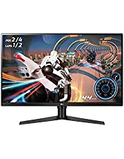 "LG Ultragear 32GK650F-B 32"" QHD Gaming Monitor, 5ms (GTG), 144 Hz, HDMI, Radeon FreeSync, Narrow Bezel, Black"