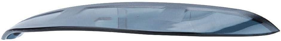 Sopracciglio specchio pioggia laterale Qii lu 2Pcs Accessori auto Specchietto retrovisore Antipioggia Sopracciglio antipioggia