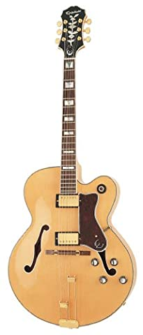 Epiphone BROADWAY Classic Hollow Body Electric Guitar (Epiphone Electric Guitar Gold)