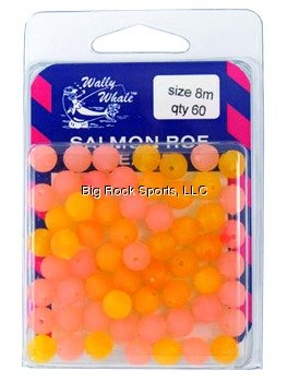 Zak Tackle Salmon Roe Bead 8Mm Peach/Org Fishing Products (Peach Salmon)