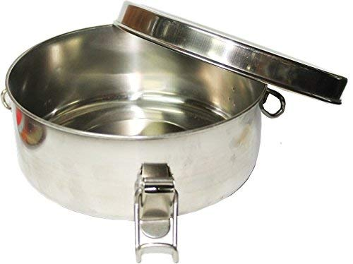 Flan Mold Stainless Steel 1 qt Capacity Aprox. 6 1/2