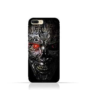 iPhone 7 Plus TPU Protective Silicone Case with Terminator Robot Design