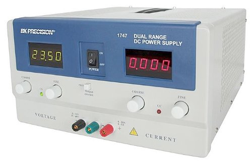 B&K Precision 1747 Dual Range DC Power Supply, 30V, 10A or 60V, 5A