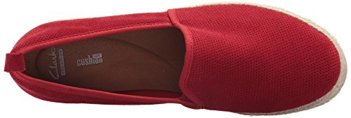 CLARKS Women's Azella Revere Loafer Red Suede cheap latest collections buy cheap professional jn29V