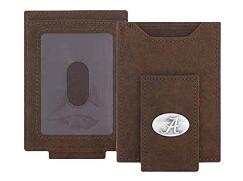 (Alabama Crimson Tide - Crazy Horse Leather Front Pocket)