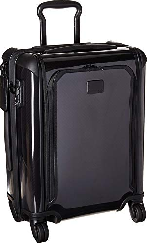 TUMI - Tegra Lite Max Continental Expandable Carry-On Luggage - 22 Inch Hardside Suitcase for Men and Women - Black/Black