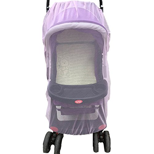 New White Mosquito Bugs Net Mesh Cover for Baby Child Bassinets STOKKE Strollers