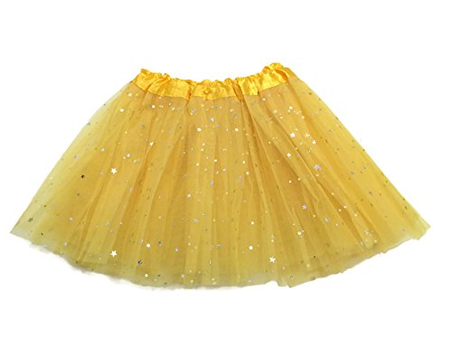 [Rush Dance Ballerina Girls Dress-Up Sparkling Stars Sequins Costume Recital Tutu (Kids (2-8 Years Old),] (Kids Tutu)