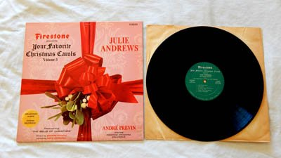 Firestone Presents Your Favorite Christmas Carols Volume 5 - Forrell & Thomas 1966 - Near Mint Cover - Julie Andrews - Andre Previn (Firestone Cover)