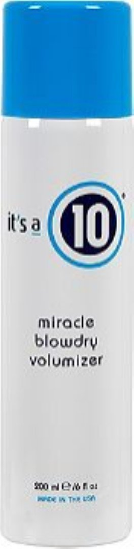 It's a 10 Haircare Miracle Blowdry Volumizer, 6 fl. oz.