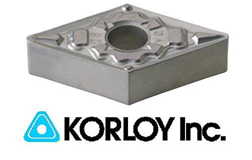 Pack of 10 Insert #: DNMG 431 HA Korloy Carbide Insert Korloy Grade: H01
