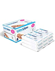 Baby Wipes, WaterWipes Sensitive Baby Diaper Wipes, 99.9% Water, Unscented & Hypoallergenic, for Newborn Skin, 9 Packs (540 Count)