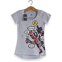Camiseta Feminina Deadpool Blah, Blah, Blah