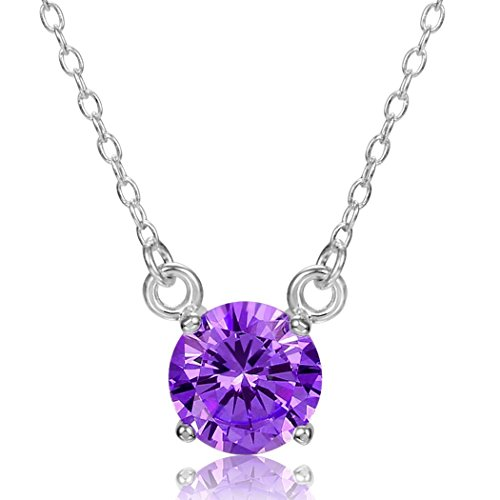 Bella Vida Platinum Simulated Birthstone Swarovski