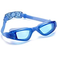 Siren Anti-Fog Adult Swimming Goggles with Nose Clip and...