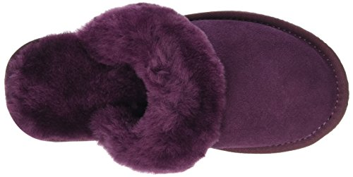 Pantoufles and SNUGRUGS with Mule Sole Femme Cuff Sheepskin Rubber 0I1vIp