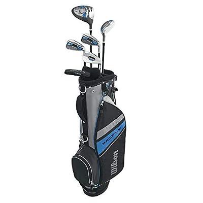 Wilson Profile Complete Junior Golf Set w/Golf Bag (Renewed)