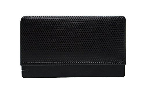 (Black Carbon Fiber- Padded Dock Sock Cover Made for Nintendo Switch)