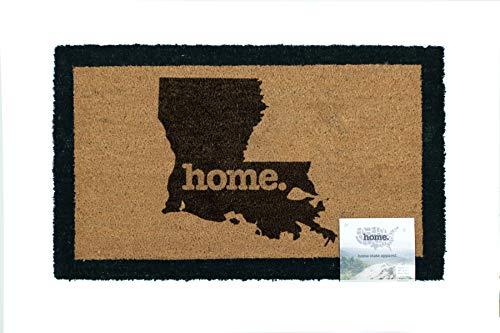 Home State Apparel Louisiana Home Coir Door Mat