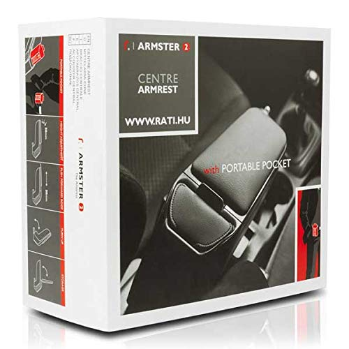 Peugeot 208 2012// ARMSTER V00405 Bracciolo Nero//Grigio specifico