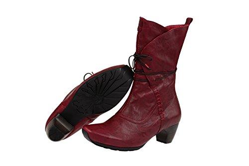 Think! 87247-70 - Botas de Piel para mujer Rojo