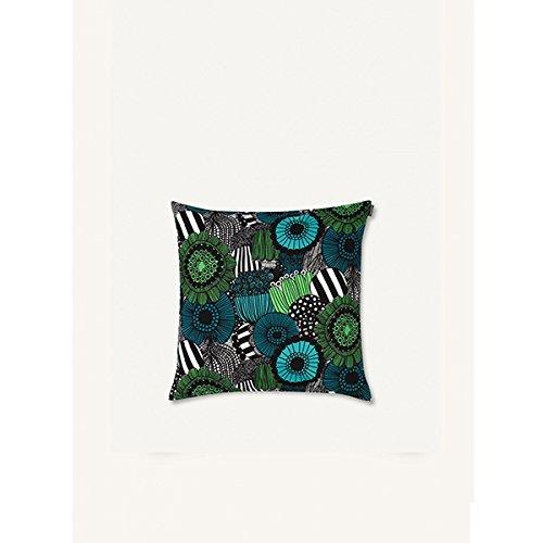 Marimekko - - - Kissenbezug - Siirtolapuut - Baumwolle - weiß grün - 50 x 50 cm B075R5KXQF Zierkissen & -hüllen bf3da3
