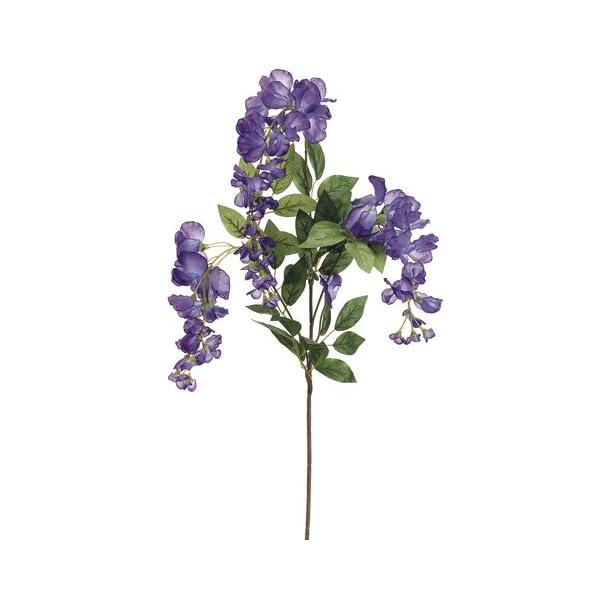 38″ Wisteria Spray Purple (Pack of 12)
