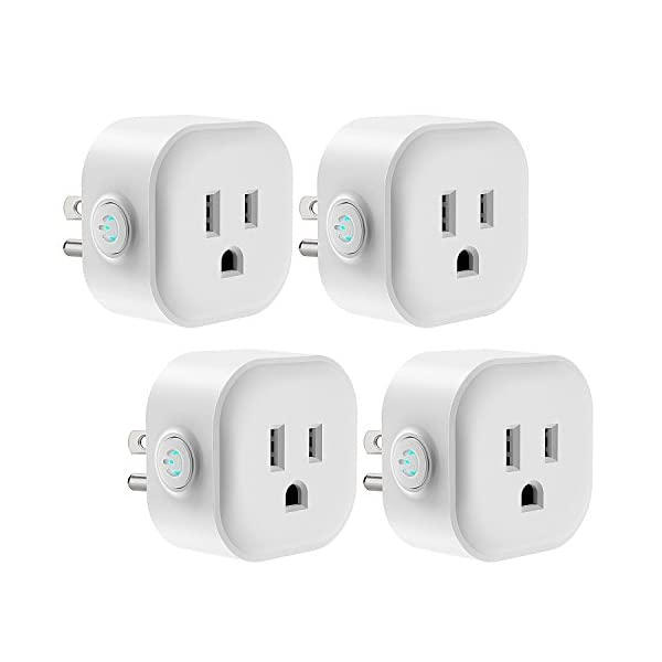 WiFi Smart Plug, Maxcio Smart Outlet Compatible with Alexa Echo, Google  Home for Voice Control, Remote Control, Ifttt Enabled, Alexa Smart Plug  Mini