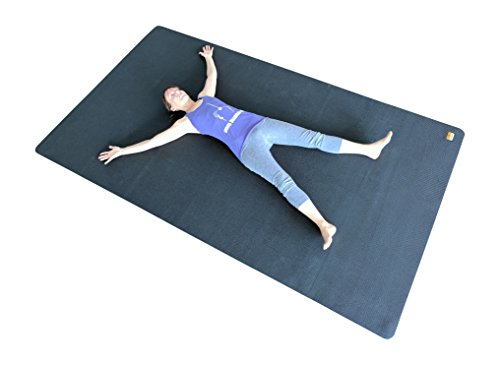 3X Large Yoga Mat And Stretching Mat - 9ft X 5ft x 7mm Thick (108''x 60'') Anti-Tear & Non Slip Yoga Exercise Mat - Extra Long Memory Foam. Pogamat Yoga Mats For Yoga & Cardio Fitness Mat WITHOUT Shoes by Pogamat (Image #5)