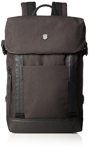 Victorinox Altmont Classic Deluxe Flapover Laptop Backpack, Black, One Size by Victorinox