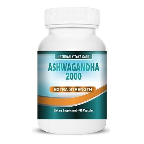Ashwagandha Extracto Fuerte 60 Cápsulas | Remedio ayurvédico para el estrés, la ansiedad y la