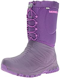 Merrell Girls Snow Quest Lite WTRPF Waterproof Snow Boot (Little Kid/Big Kid)