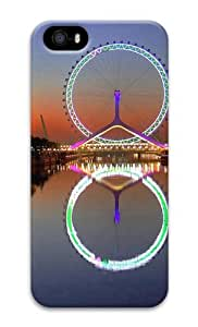 Ferris Wheel Tianjin China 3D Case crazy iPhone 4S cover for Apple iPhone 5/5S by ruishername
