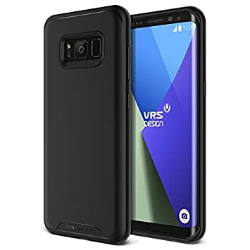 VRS Design Carcasa Samsung Galaxy S8, [Negra], Carcasa ultraplana para Samsung Galaxy S8 [Ajuste, Funda de teléfono móvil para Galaxy S8 (2017)