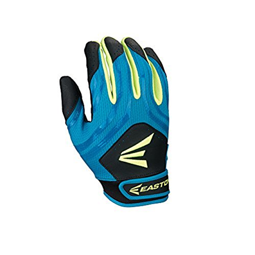 - Easton HF3 Fastpitch Gloves, Blue/Gren/Black, Medium