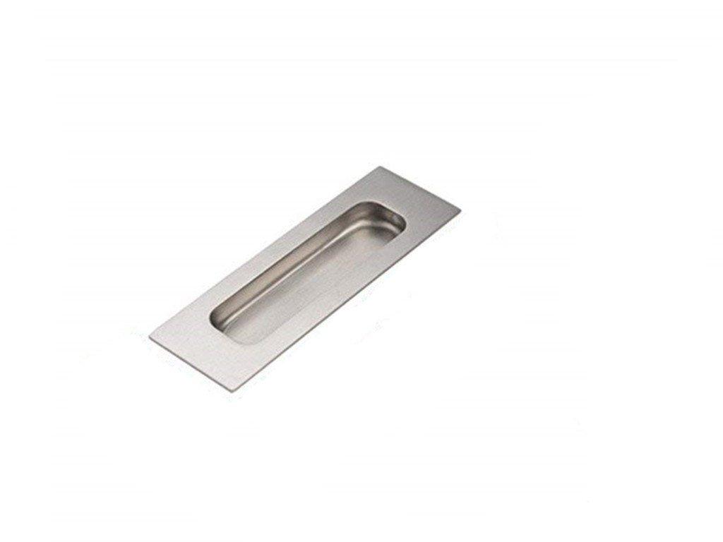 Stainless Steel Recessed Flush Pull Finger Insert Slide Sliding Door