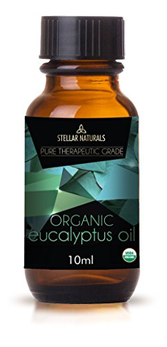 Stellar Naturals Organic USDA Aromatherapy Set of Lavender, Eucalyptus, Lemongrass, Peppermint, Tea Tree and Orange for Therapeutic Bliss by Stellar Naturals (Image #8)