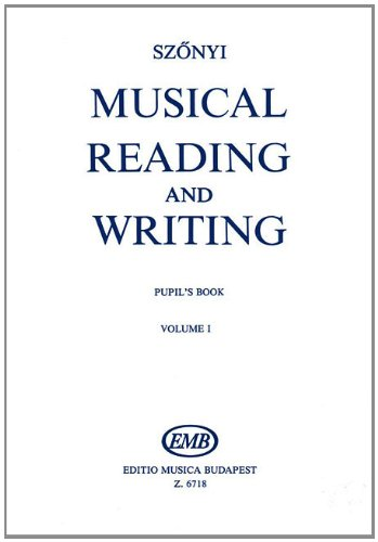 Musical Reading & Writing - Exercise Book Volume 1 (The Kodaly Concept Library)