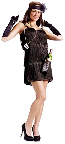 GTH Women's Sexy Bootleg Baby Flapper 1920'S Adults Fancy Halloween Costume, S/M (2-8) - 1920 Scary Halloween Costumes