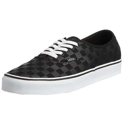 Vans Authentic Original Sneakers - black checker, men's 4, women's 5.5