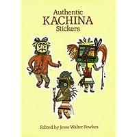 Authentic Kachina Stickers: 22 Full-Color Pressure-Sensitive Designs