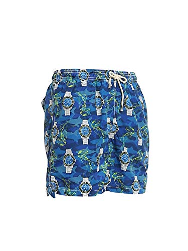 MC2 SAINT BARTH Costeau recycled fabric swim shorts, M