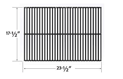 (Porcelain Steel Cooking Grid Replacement for Turbo 3-burner and Sterling/shepherd 2110, 2200, 2210, 2220, C420, C430, C52, C60SRB, C640, DB410 Gas Grill Models, Set of 2)