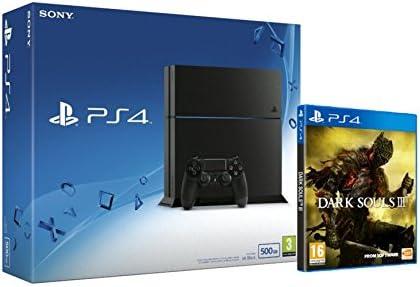PlayStation 4 (PS4) - Consola 500GB + Dark Souls III: Amazon.es ...